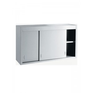 Inomak ET314A: LOW COST 1.4m Wall Mounted Storage Cupboard
