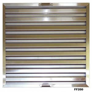 Inomak FF200: Stainless Steel Baffle Filter