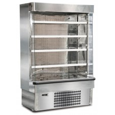 Mondial Elite Jolly SLX14M: 1.34m Stainless Steel Fresh Meat Multideck Display