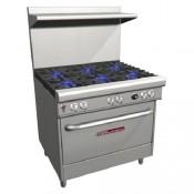 Southbend 4361D: 6 Burner LP Gas Range Oven