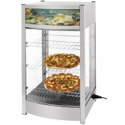 Buffalo RTR-97L CK627: Heated Countertop Food Display Cabinet - 97Ltr