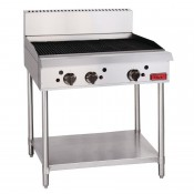 Thor GL171-N: Natural Gas Freestanding 3 Burner Chargrill