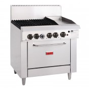 Thor GL174-N: 4 Burner Natural Gas Oven and 305mm Grill