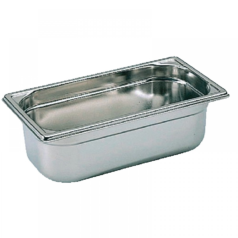 Industrial Kitchen Pans: Bourgeat K064: 1/3 Stainless Steel Gastronorm Pan