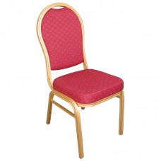 Bolero U525: Aluminium Arched Back Banquet Chairs (Pack of 4)