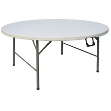 Bolero CC506: 5ft Diameter Round Centre Folding Table