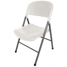Bolero CE692: Foldaway Utility Chair White (Pack of  2)