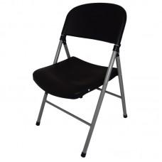Bolero CE693: Foldaway Utility Chair Black (Pack of 2)