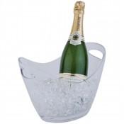 APS CF310: Wine Bucket Clear 2 Bottle