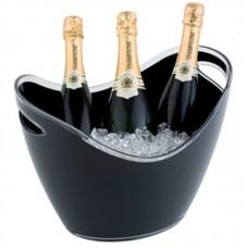 APS CF311: Wine & Champagne Bowl Black