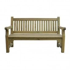 Rowlinson CG093: 3 Seater Softwood Garden Bench