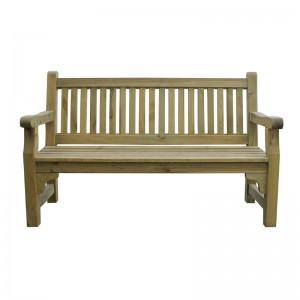 Rowlinson CG093: 3 Seater Softwood Garden Bench