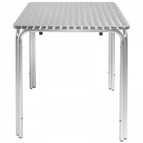 bolero cg837 square leg table 600mm. Black Bedroom Furniture Sets. Home Design Ideas
