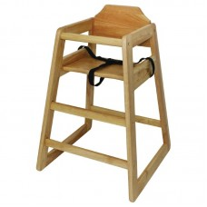 Bolero DL900: Wooden Highchair Natural Finish