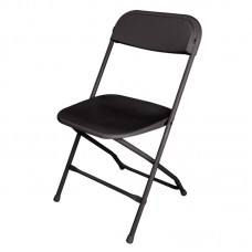 Bolero GD386: Folding Chair Black (Pack of 10)