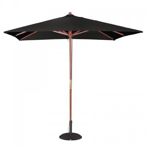 Bolero gh990 square double pulley parasol black wide - Parasol double pente ...
