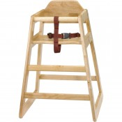 Bolero GJ097: Natural Wood Highchair
