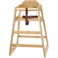 Bolero GJ097: Natural Wood Highchair