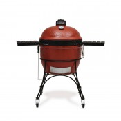 "Kamado Joe GL364: Big Joe 24"" Ceramic Grill Red"