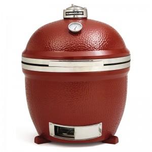 "Kamado Joe GL366: Big Joe 24"" Stand Alone Ceramic Grill Red"