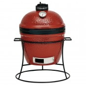"Kamado Joe GL368: Joe Junior 16"" Ceramic Charcoal Grill Red"