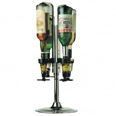Beaumont K476: Rotary 4 Bottle Stand for 70cl / 1 Litre Bottles