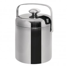 L279: Ice Pail With Tongs 1.3 Litre
