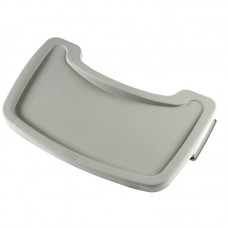 Rubbermaid M849: Platinum Tray for Rubbermaid High Chair M959