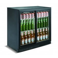 .Kool SC228YF Double Sliding Door Bottle Cooler