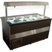 Igloo GLH-1000 Open: Gastroline Heated Self-Service Buffet Counter 1m