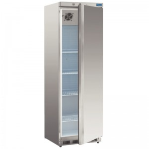 Polar CD082: 400ltr Stainless Steel Caterers Refrigerator - Light to Medium Duty
