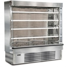 Mondial Elite Jolly SLX19M: 1.89m Stainless Steel Fresh Meat Multideck Display. Supplied with FULL parts and labour warranty!
