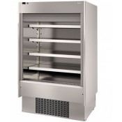 Infrico EMS9INOX PM2: Steel Multideck with Shutter