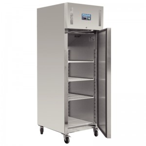 Polar G592: 600ltr Commercial Gastro Refrigerator in Stainless Steel - Medium Duty