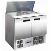 Polar G606: Gastronorm Food Preparation Counter with Refrigerated Understorage