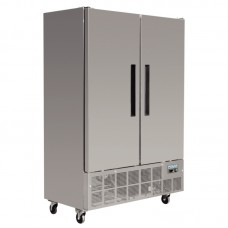 Polar GD880: 960ltr Double Door Catering Freezer - Medium Duty