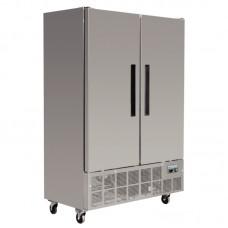 Polar GD879: 960ltr Slimline 2 Door Commercial Refrigerator - Medium Duty