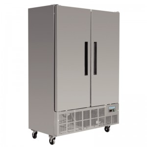 Polar GD879: 960ltr Slimline 2 Door Commercial Refrigerator - Medium Duty
