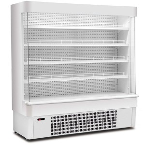 Mondial Elite Jolly SL19: Elite SL range Multideck Display in White Finish 1880mm wide model
