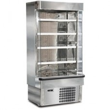 Mondial Elite Jolly SLX10M: 0.99m Stainless Steel Fresh Meat Multideck Display