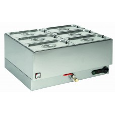 Parry 1985: Electric Wet Well Gastronorm Bain Marie - 2 x 1/1 GN