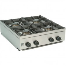 Parry AG4HP: LPG Gas 4 Burner Hob Unit