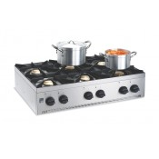 Parry AG6H: 6 Burner Natural Gas Hob Unit