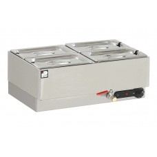 Parry GBM4: 4 x 1/4 GN Electric Dry Well Gastronorm Bain Marie