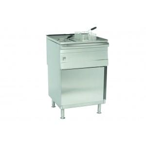 Parry PDGF: Natural Gas Double Pedestal Fryer