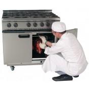 Parry P6DUCK: Natural Gas 6 Burner Duck Oven