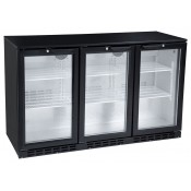 FL-BB3: Triple Hinged Door Back Bar Chiller With Low Energy LED Lighting