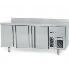 Infrico BMGN1960: 3 Door Gastronorm Refrigerated Counter 700mm Deep - 460ltr