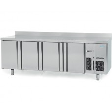 Infrico BMGN2450: 4 Door Gastronorm Refrigerated Counter 700mm Deep - 625ltr