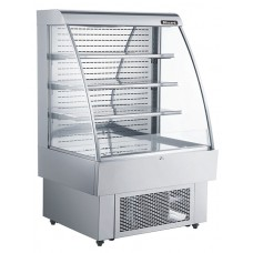 Blizzard GRAB100: 1.5m Low Height Multideck with LED Lighting - 1m wide model